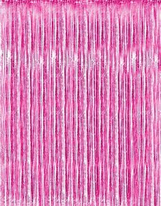 Metallic Pink Foil Fringe Curtains 1 Pc by Kangaroo Baby Shower Party Supplies -- For more information, visit image link. Note:It is Affiliate Link to Amazon.
