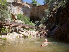 Arizona day trips. Beat the heat with these amazing spots. The Tonto Natural  bridge is one of my favorite spots in Arizona. #phoenixrealestate #jodiwilcox