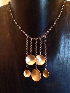 New Item Rhapsody Brass Necklace Ready to by GeorgeNightingale, $68.00