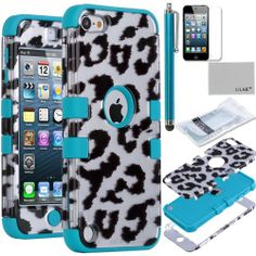 Pandamimi ULAK(TM) Hard Impact Armor Hybrid Rubberize Leopard Case Cover with Blue Silicone Inner Shell for Apple iPod Touch 5 5th + Screen Protector(cleaning cloth with ULAK Logo) ULAK,http://www.amazon.com/dp/B00DE6MR3U/ref=cm_sw_r_pi_dp_eshdtb1PBP3P4KGG