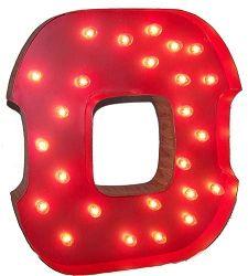 """Lighted Carnival Letter """"O"""""""