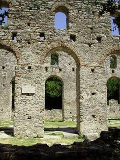 Bazilika, Butrint, Albania