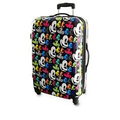 Mickey Mouse Pop Art Luggage - 26'' Mickey Mouse Pop Art, Mickey Mouse Luggage, Disney Luggage, Disney Mickey Mouse, Minnie Mouse, Disney Travel, Disney Diy, Teen Luggage, Travel