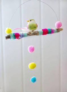 DIY Bird Art Project for Kids