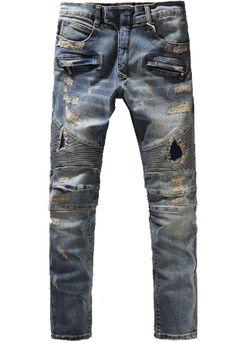 Biker jeans from Mastroapparel.com