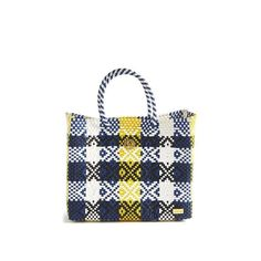 Yellow Pattern, Beautiful Bags, Small Bags, Custom Items, Louis Vuitton Damier, Straw Bag, Tote Bag, Mexicans, Handmade