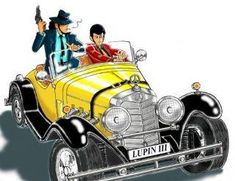 J Games, Japanese Video Games, Lupin The Third, Classic Cartoons, Anime Style, Vintage Posters, Anime Characters, Cool Cars, Manga Anime