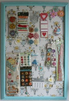 DIY organization board #diy #organization