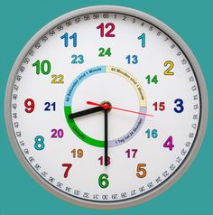 Clock Learning For Kids, Math For Kids, Puzzles For Kids, Activities For Kids, Best Brain Teasers, Clock Labels, Learn To Tell Time, English Worksheets For Kids, School Frame