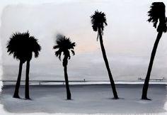 Jay Bower - Burning sunrise, Acrylic on canvas, Wind Turbine, Jay, Sunrise, Canvas, Collection, Tela, Canvases, Sunrises