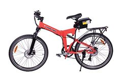 Special Offers - X-Treme Scooters X-CURSION Folding Electric Mountain E-Bike Bicycle Red - In stock & Free Shipping. You can save more money! Check It (July 05 2016 at 08:59PM) >> http://cruiserbikeswm.net/x-treme-scooters-x-cursion-folding-electric-mountain-e-bike-bicycle-red/