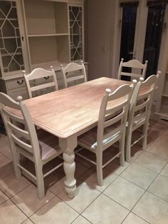 Beautiful Choose Your Own Fabric And Colour X On Gumtree. Simply Stunning Solid Pine  Table And Chairs Refinished To A High Standard. I Have 2 Unfinished Set