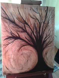 Sinking Tree Paintings, Art, Paint, Painting Art, Kunst, Draw, Painting, Portrait, Resim