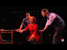 """Next to Normal"" stars Aaron Tveit, J. Robert Spencer and Alice Ripley sing ""I Am the One"""