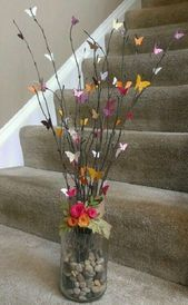 Gardens Discover Craft Spring Flowers Centerpieces 36 Ideas For 2019 Butterfly Crafts Flower Crafts Butterfly Tree Butterflies Butterfly Wall Art Home Crafts Crafts For Kids Diy Crafts Mothers Day Crafts Home Crafts, Diy And Crafts, Crafts For Kids, Decor Crafts, Butterfly Crafts, Flower Crafts, Butterfly Tree, Rama Seca, Diy Y Manualidades