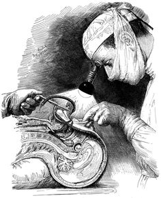 """Illustration by Max Brodel. He was known to take great care with  the accuracy in his illustrations, and he """" made no drawing without original study by injection, dissection, frozen section, or reconstruction."""" ( Patel et al.) Brodel's illustrations updated and set the standard for medical illustration techniques at the time ( late 19- begin 20th century).              http://www.fortnightjournal.com/ed3img/JT/JT08.jpg"""