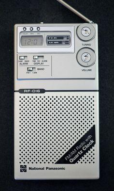 Pack Rat: Panasonic RF-016 – Mr.Thin
