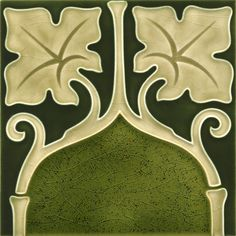 "Art Nouveau Tile by GOLEM - www.golem-baukeramik.de - Getting all Nostalgic again. ""likes"" here: https://www.facebook.com/pages/GOLEM-Kunst-und-Baukeramik/178124705576234"