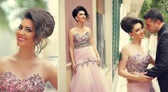 Said mhamed's wedding work Prom Dresses, Formal Dresses, Couples, Hair Styles, Photography, Wedding, Happy, Fashion, Weddings