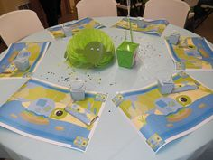 Turtle table decorations