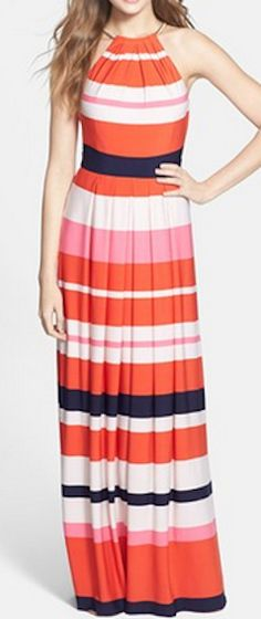 Love this stripe jersey maxi dress! http://rstyle.me/n/hnds5nyg6