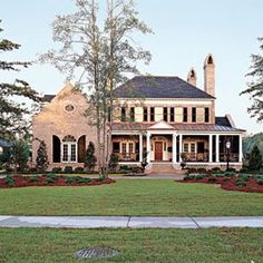 575 best Southern Living House Plans images on Pinterest   Beach     Pretty House Plans with Porches