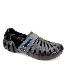 Black & Robins Egg Blue Voyager Shoe