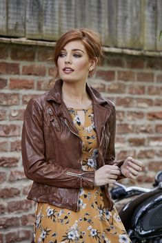 4aa6d18b9ab Joe s Signature Leather Jacket This is a favourite in the office at Joe  Browns! This