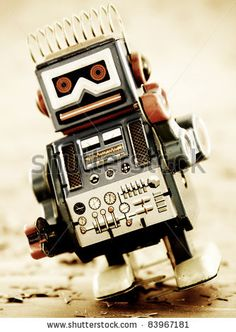 Japanese Retro Vintage Battery Operated Toy Robot Stock Photo 97191011 : Shutterstock