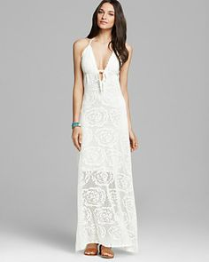 Crochet Lace Maxi Dress from Guess