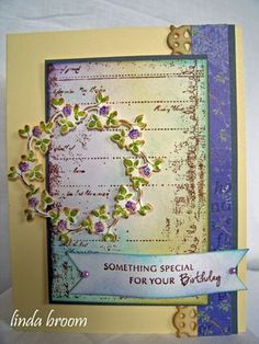 Dies and Stamps from Memory Box make a beautiful card.