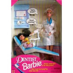 Love Dentist Barbie...little girls dreams do come true :)