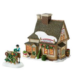 love Dept. 56's villages...I played with my mom's all the time, rebuilding the villages.