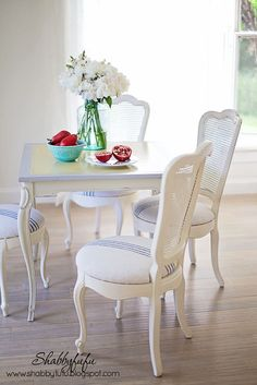 Table and Chairs...A Thrifty Marriage