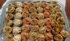 Jak upéct listové košíčky s různými slanými náplněmi   recepty Gnocchi, New Recipes, Sprouts, Muffin, Food And Drink, Appetizers, Snacks, Vegetables, Breakfast
