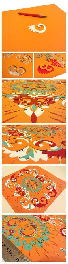 Etno Papercraft by Guzel Garipova