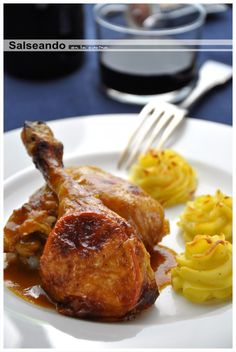roasted chicken with orange Turbo Broiler Recipes, Roasted Chicken, Tandoori Chicken, Carne, Pork, Meat, Ethnic Recipes, Html, Blog