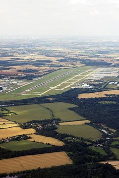 LONDON.......Stansted Airport - 1991: The Queen opened the £400 million new terminal, aprons and taxiways at Stansted, which increased the airport's capacity from two to eight million passengers a year.