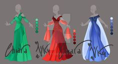 :: Adoptable Gem Outfit: AUCTION CLOSED :: by VioletKy on DeviantArt