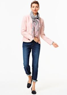 Fall 2014 • TALBOTS look book. Love the blush pink colors this fall!,