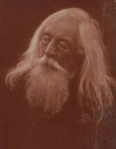 Portrait of Mr. Charles Hay Cameron (husband of Julia Margaret Cameron),  photo taken by  J M Cameron in 1871.