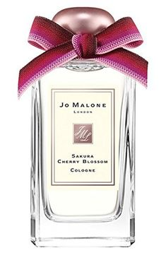Jo Malone Sakura Cherry Blossom Cologne Spray - (3.4 oz / 100ml). Sakura Cherry Blossom captures the purity and transience of spring's fleeting flower fanfare. A diaphanous, perfectly powdery fragrance that lightly comes to rest on a creamy base of musk and woods. Charming. Serene.