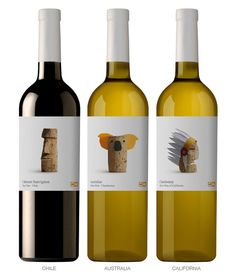 Spanish design studio Lavernia & Cienfuegos to create a label for Delhaize #packaging #labeling #wine
