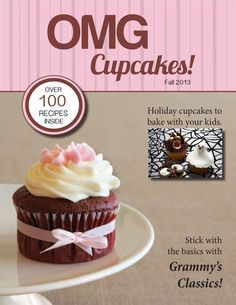 OMG Cupcakes Magazine We had to design a magazine for advertising class. Our teacher wanted us to choose a topic that interests us and then design 10 pages using our own images and writing our own articles. Holiday Cupcakes, Baking Classes, Secret Recipe, Holiday Recipes, Cake Decorating, Food Photography, Deserts, Advertising, Articles