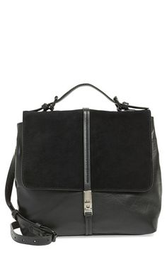 Kelsi Dagger Brooklyn KelsiDagger Brooklyn 'Transit' Suede & LeatherMessenger Bag available at #Nordstrom