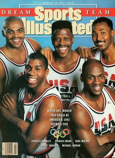 One of the best team ever assembled in sports history.