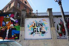 "Nuria Toll. Proyecto ""Muros"".#ArteTabacalera Promoción del Arte #ArteUrbano #StreetArt #Madrid Arterecord 2016 https://twitter.com/arterecord"