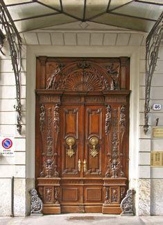 World Of Darkness, Door Gate, Visit Italy, Torino, Balconies, Gates, Gothic, Doors, Seasons