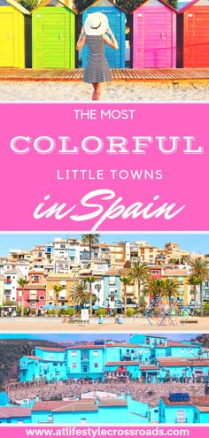 Do You Want Worldwide Vehicle Coverage? When All You Need Is A Little Splash Of Colors: The Most Colorful Villages In Spain - At Lifestyle Crossroads Europe Travel Tips, Spain Travel, European Travel, Travel Guides, Travel Destinations, Portugal Travel, Holiday Destinations, Cool Places To Visit, Places To Go