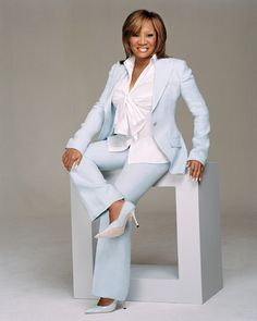 The esteemed Ms. Patti Labelle. I love her voice and her soul, she is a great model for not only the black woman but all women.